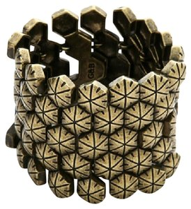 Giles & Brother Giles & Brothers Hexagon Cuff Bracelet
