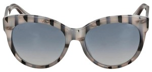 Gucci GUCCI Asian Fit Gray Striped Sunglasses