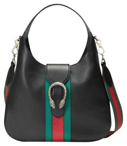 Gucci Dionysis Stripe Web Hobo Bag