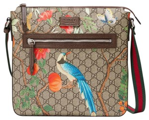 Gucci Tian Dionysus Gg Web Messenger Cross Body Bag