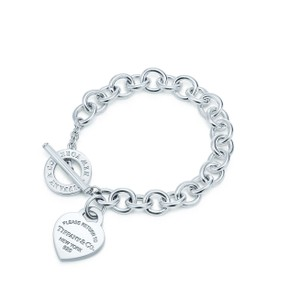 Tiffany & Co. RETURN TO TIFFANY(R) HEART TAG TOGGLE BRACELET
