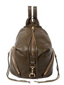 Rebecca Minkoff Leather Julian New With Tags Gold Hardware Festival Backpack