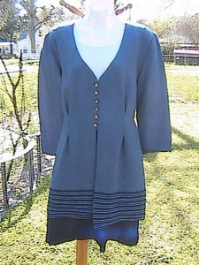 Giorgio Fiorlini short dress white & light Blue Long Sleeve Collection By on Tradesy