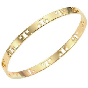 Tory Burch pierced t bangle