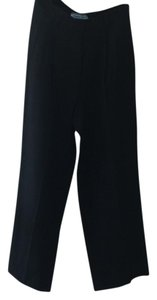 Prada Wide Leg Pants black