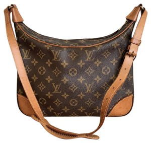 Louis Vuitton Monogram Boulogne Canvas Shoulder Bag