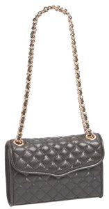 Rebecca Minkoff Mini Quilted Affair Quilted Gold Hardware Strap Cross Body Bag