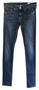 Rag & Bone Skinny Pants indigo wash
