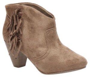 Wild Diva Taupe Boots