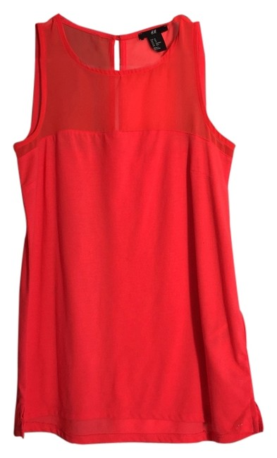 Preload https://item1.tradesy.com/images/h-and-m-pink-blouse-size-2-xs-2119675-0-0.jpg?width=400&height=650