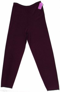 Chico's Casual Straight Pants Plum