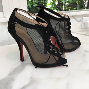 Christian Louboutin black suede Formal