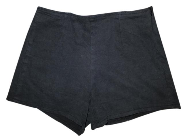 Preload https://item3.tradesy.com/images/black-urban-outfitters-denim-high-waisted-minishort-shorts-size-28-plus-3x-2119717-0-0.jpg?width=400&height=650