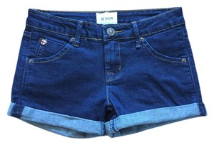 Hudson Jeans Hudson Dark Wash Girls Cuffed Shorts Denim