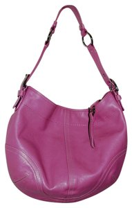 Coach Vintage Soft Leather Hobo Bag