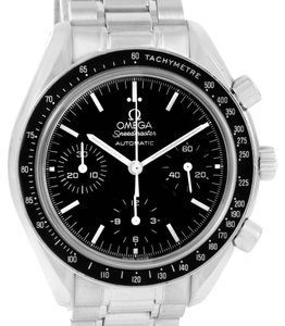 Omega Omega Speedmaster Reduced Automatic Stainless Steel Watch 3539.50.00