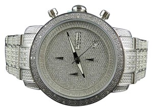 JoJino Iced Mens Jojo/Jojino Joe Rodeo Stainless Steel 1.05 Ct Diamond Watch