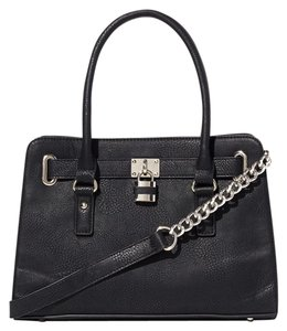 Charming Charlie Satchel in Black