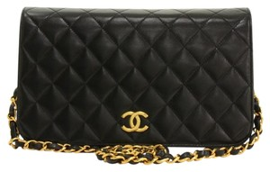 Chanel Classic Vintage Cross Body Lambskin Shoulder Bag