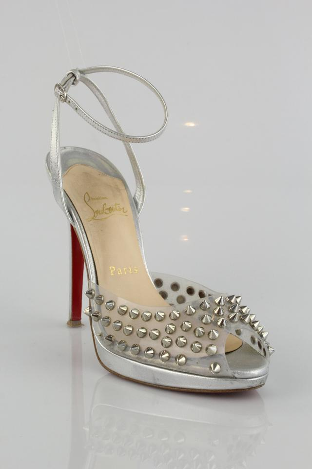 505d448a2cb Christian Louboutin Silver St Jeannette Formal Shoes Size US 7.5 Regular  (M, B) 75% off retail