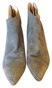 C. Wonder Suede Gray Boots