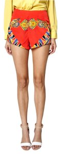 Lovers + Friends Print Mini/Short Shorts Red