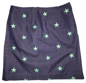 Lilly Pulitzer Skirt navy blue, green