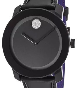 Movado Movado Bold Black dial patent leather