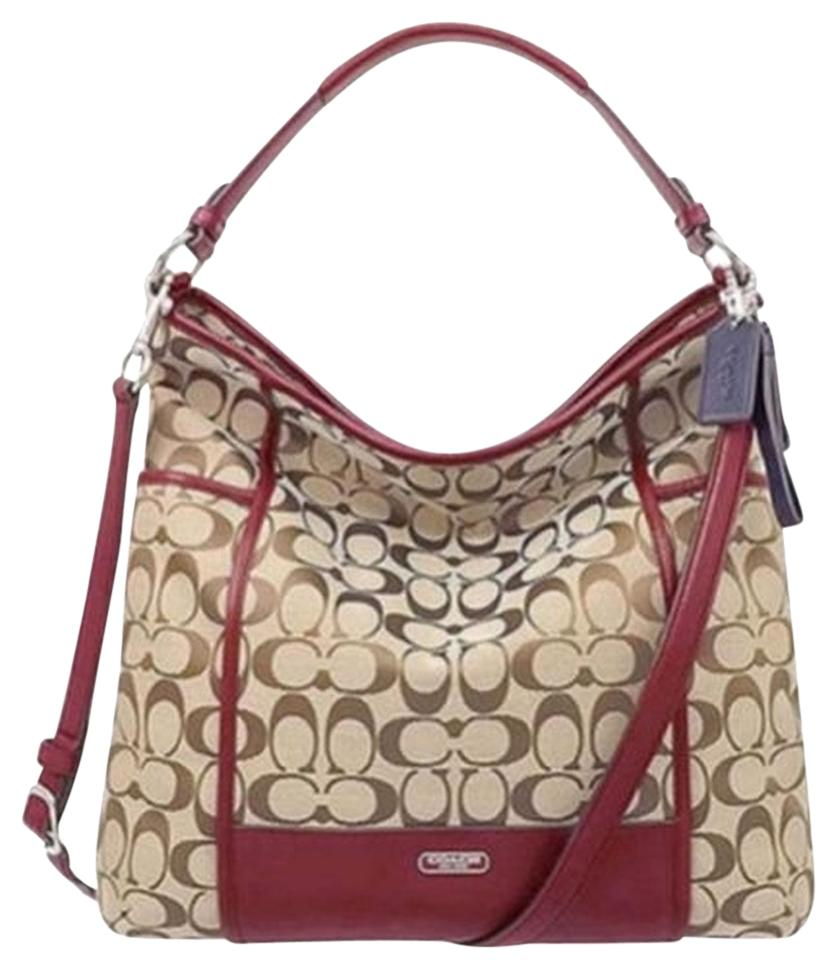 fd78cca2920c ... sale coach signature tote crossbody handbag hobo bag 88578 66770