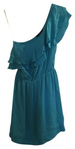 Single One Ruffle Silk Dress