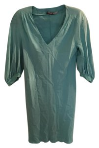 Juicy Couture Silk V-neck Dress