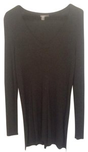 Halogen Soft Longsleeve V-neck Casual Fitted Sweater