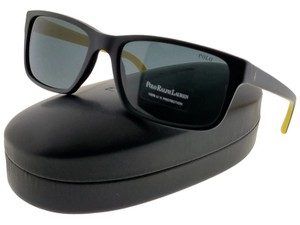 Ralph Lauren PH4076-524487 Men's Black Frame Grey Lens Sunglasses