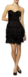 Rebecca Taylor Party Strapless Sateen Bustier Summer Dress