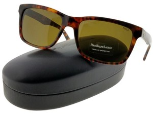 Ralph Lauren PH4098-501773 Men's Havana Frame Brown Lens Sunglasses