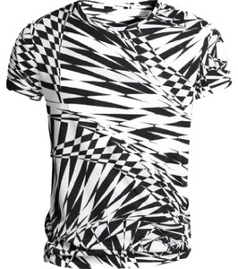 Versace for H&M T Shirt Black and White