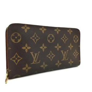 Louis Vuitton Monogram Porte Monnaie Zippy Long Wallet
