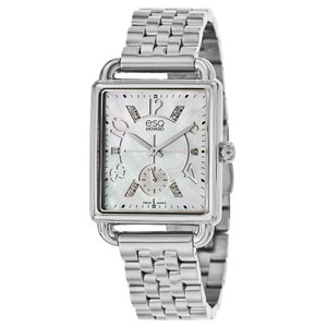 ESQ ESQ by MOVADO Origin Stainless MOP Dial Diamond Watch 07101414