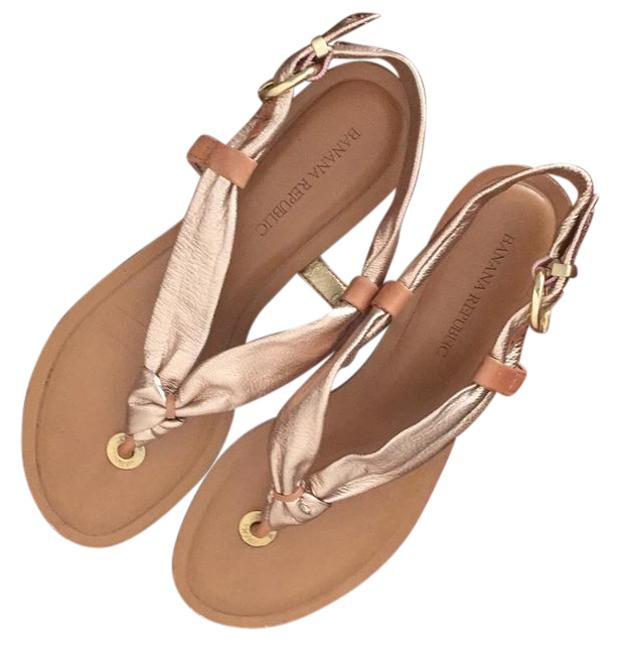 Item - Rose Gold Sandals Size US 6.5 Narrow (Aa, N)