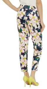J.Crew Floral Summer Jogger Print Relaxed Pants Navy Floral