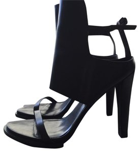 Alexander Wang black Platforms