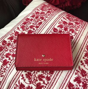 Kate Spade Kate spade coin/cards red leather wallet