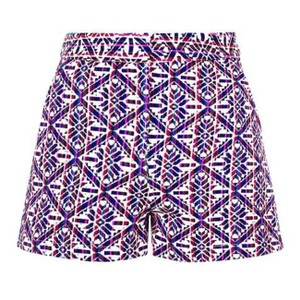 Topshop Dress Shorts Multi