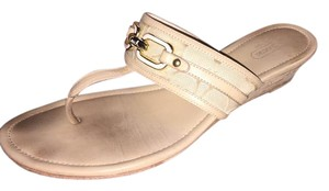 Coach Khaki/Chestnut Sandals