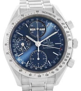 Omega Omega Speedmaster Automatic Day Date Blue Dial Mens Watch 3521.80.00