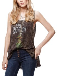 Free People Graphictank Summer Boho Festival Top