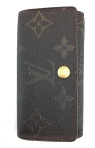 Louis Vuitton #11462 *Clearance* Trofold 4 Ring Key Holder monogram