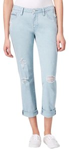 Jag Jeans Distressed Summer Spring Boho Boyfriend Cut Jeans