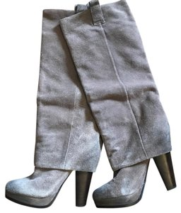 Ash grey/taupe Boots