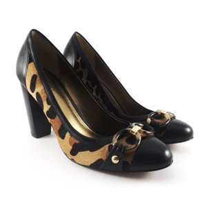 Coach Leopard, Black Pumps